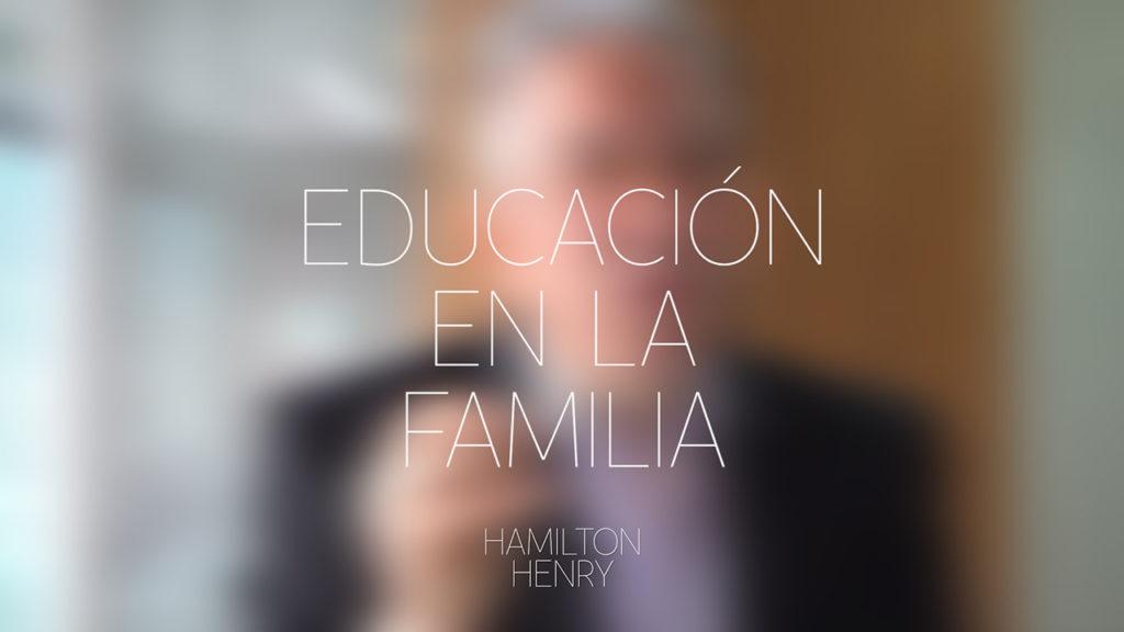 Educación en la familia