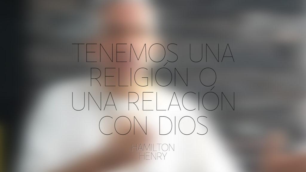 Tenemos una religión